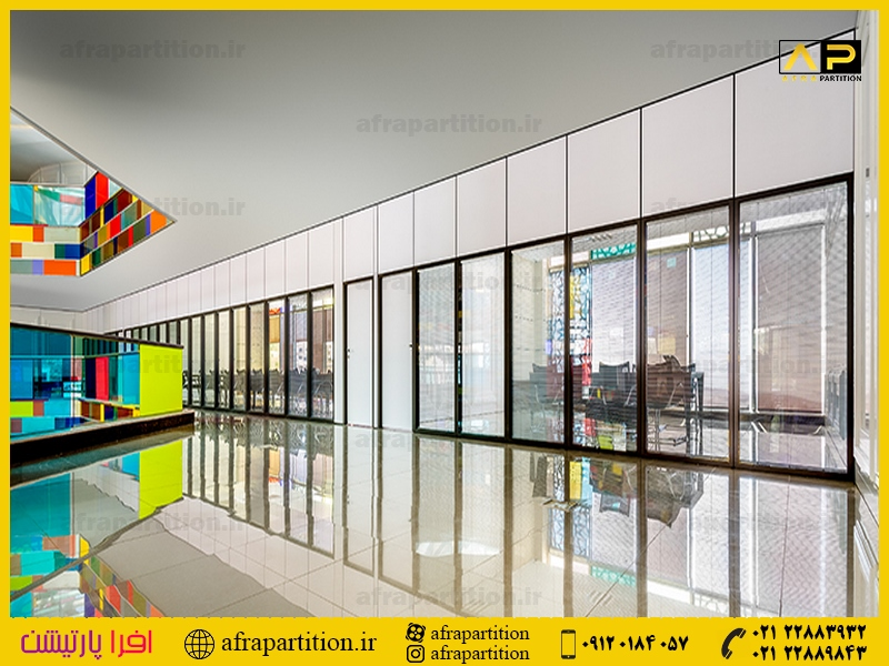 پارتیشن شیشه ای دو جداره (1)