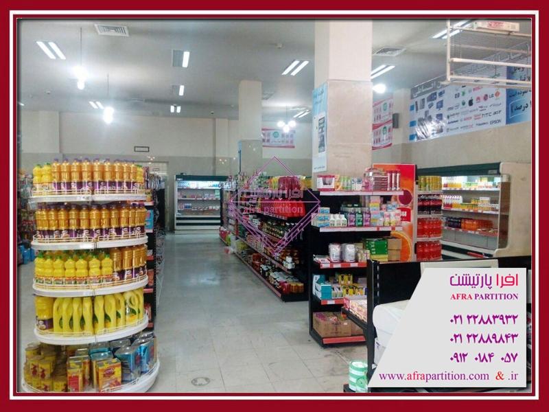 قفسه و ویترین فروشگاهی (7)