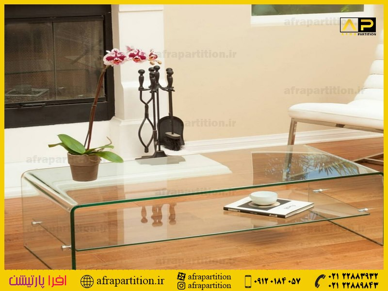 میز عسلی شیشه ای (11)