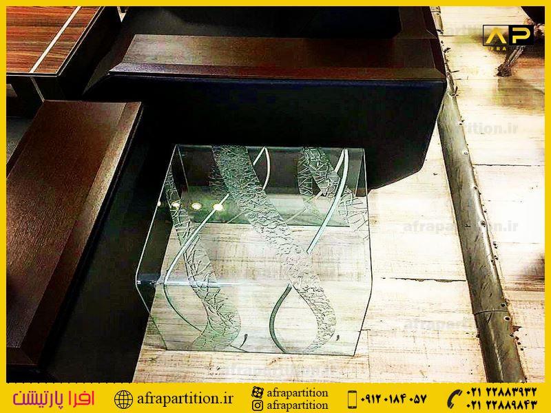 میز عسلی شیشه ای (18)