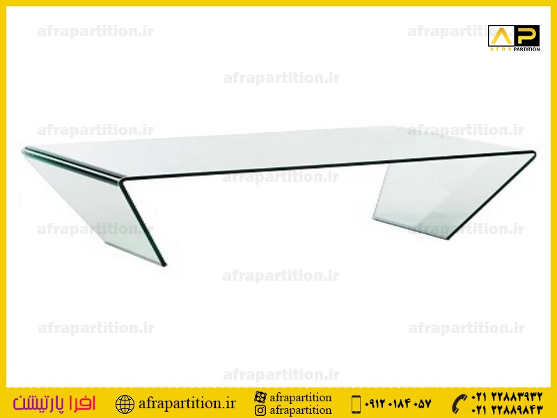 میز عسلی شیشه ای (45)