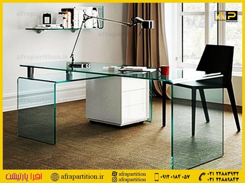 میز عسلی شیشه ای (9)
