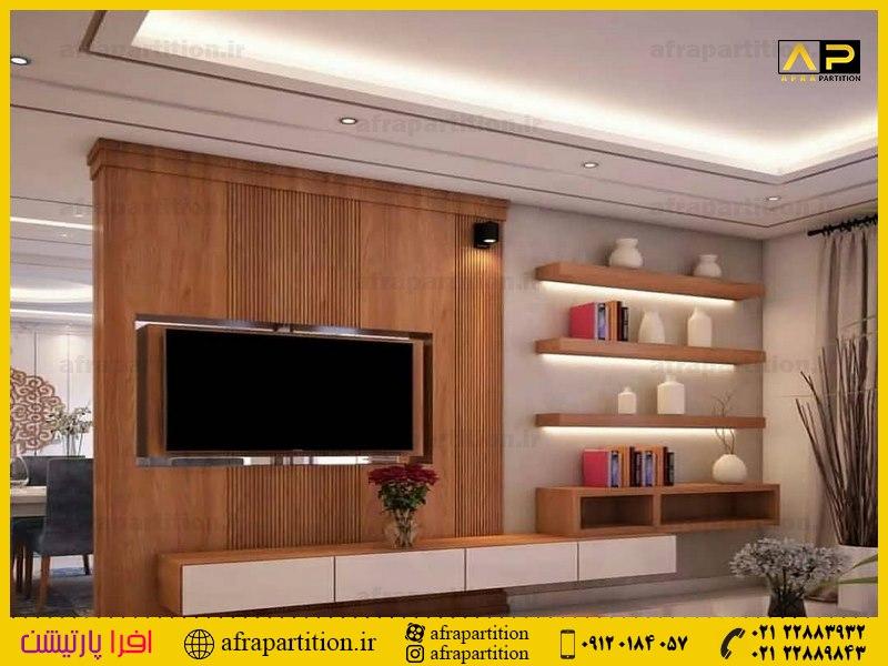 میز و دکور تلویزیون دیواری (10)