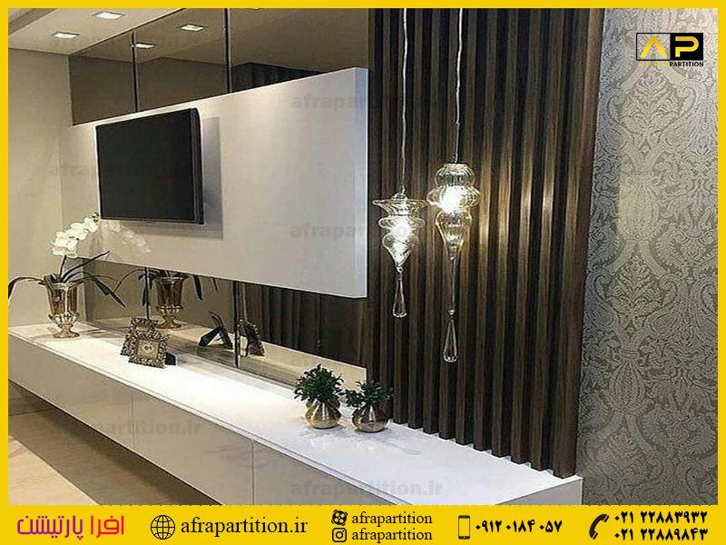 میز و دکور تلویزیون دیواری (11)