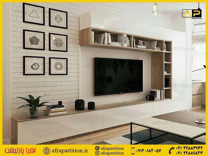 میز و دکور تلویزیون دیواری (17)