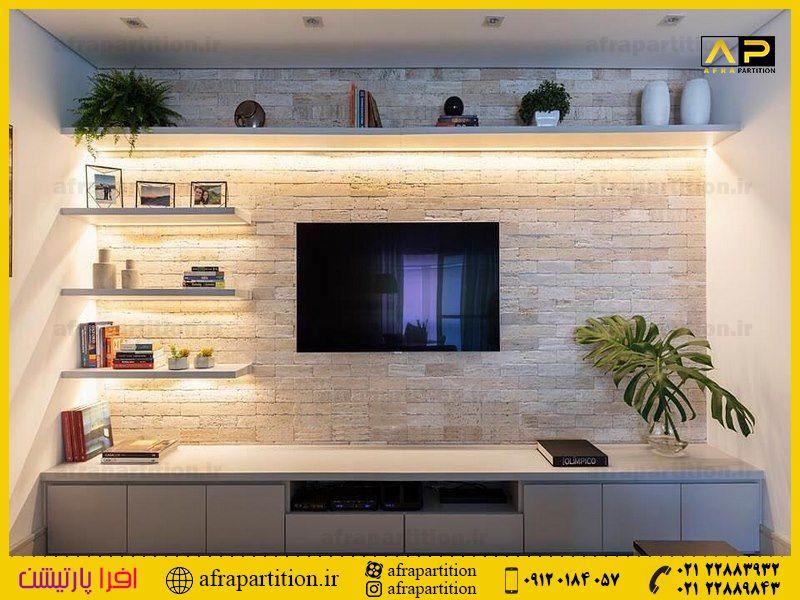 میز و دکور تلویزیون دیواری (32)