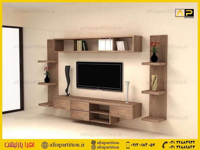میز و دکور تلویزیون دیواری (37)