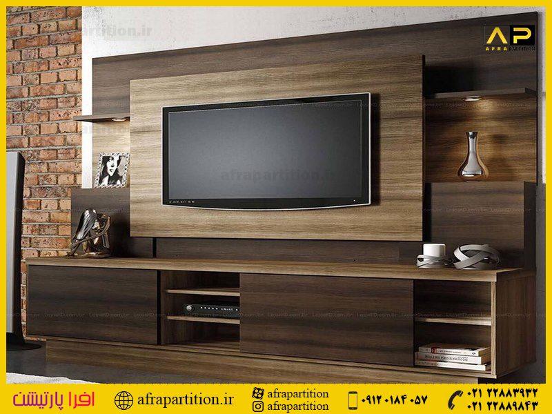 میز و دکور تلویزیون دیواری (40)