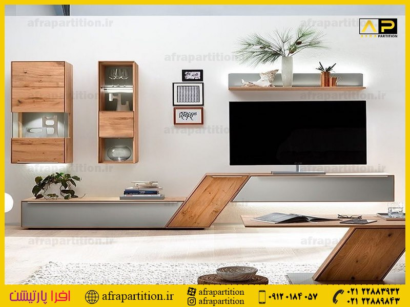 میز و دکور تلویزیون دیواری (5)