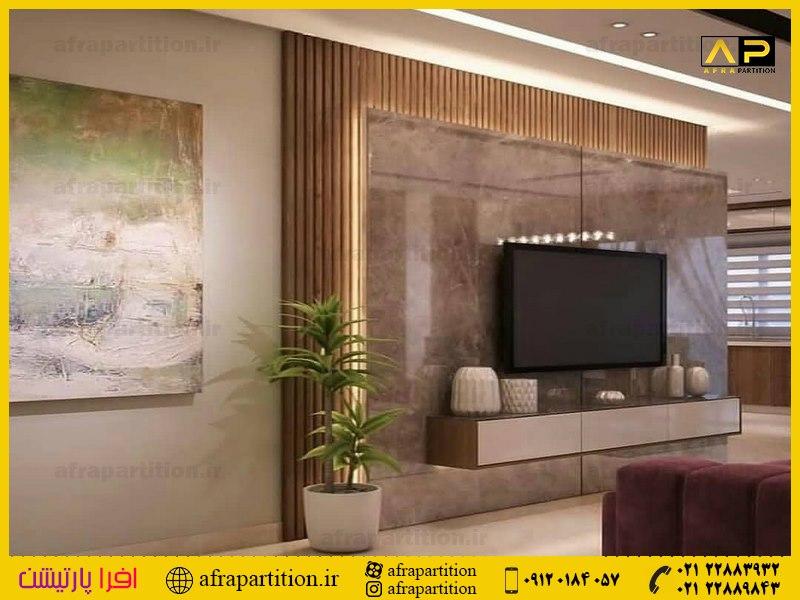 میز و دکور تلویزیون دیواری (6)
