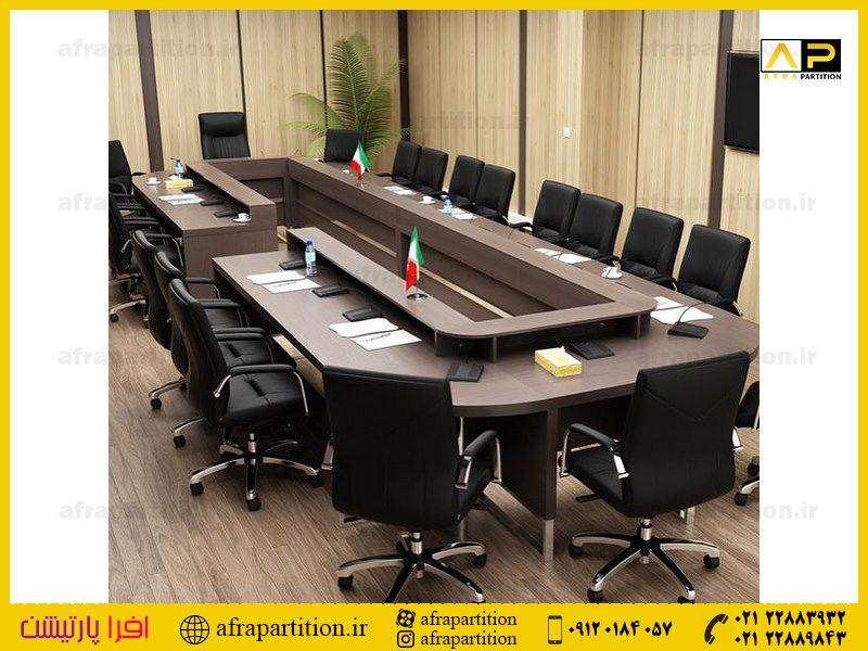 میز کنفرانس با پذیرایی (7)