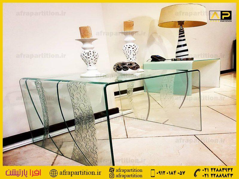 میز عسلی شیشه ای (12)