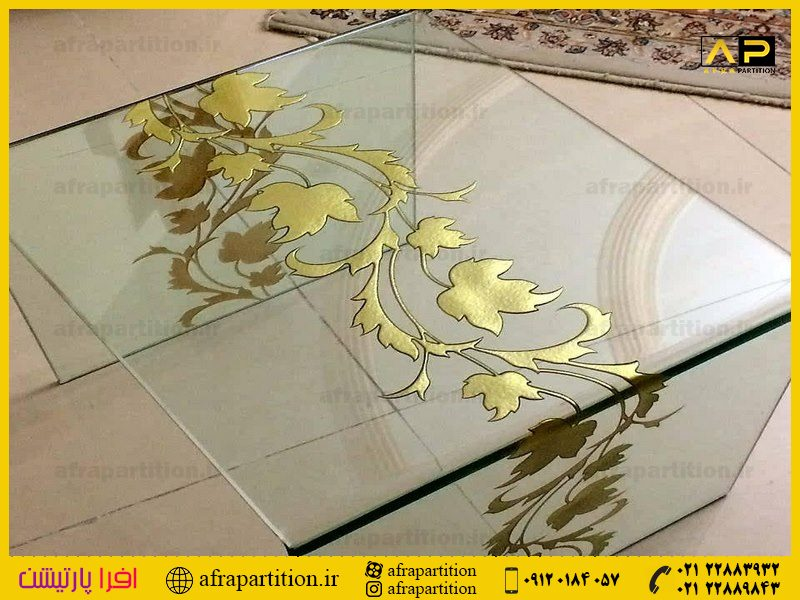 میز عسلی شیشه ای (13)