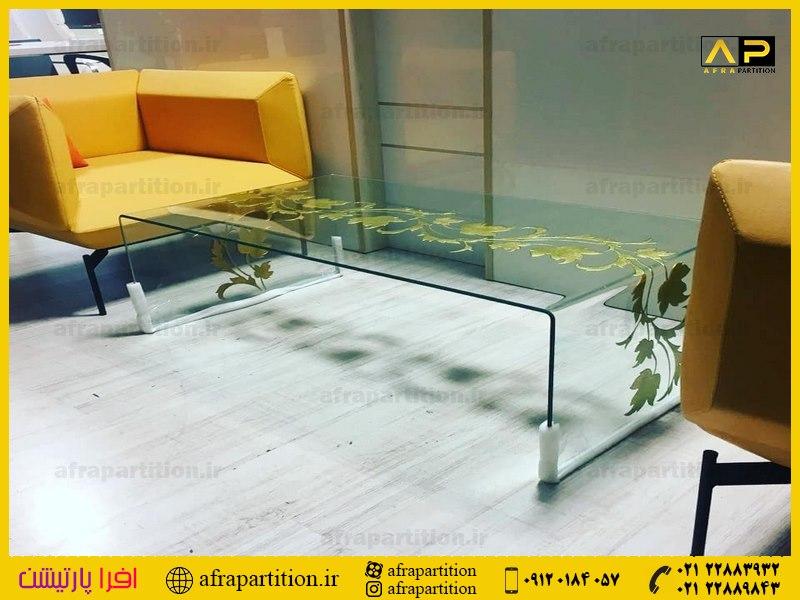 میز عسلی شیشه ای (15)