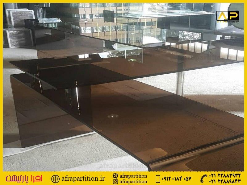 میز عسلی شیشه ای (32)