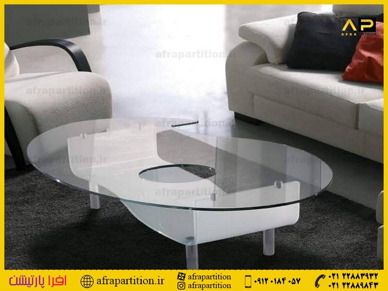 میز عسلی شیشه ای (35)
