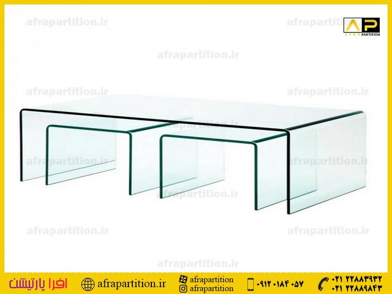 میز عسلی شیشه ای (36)