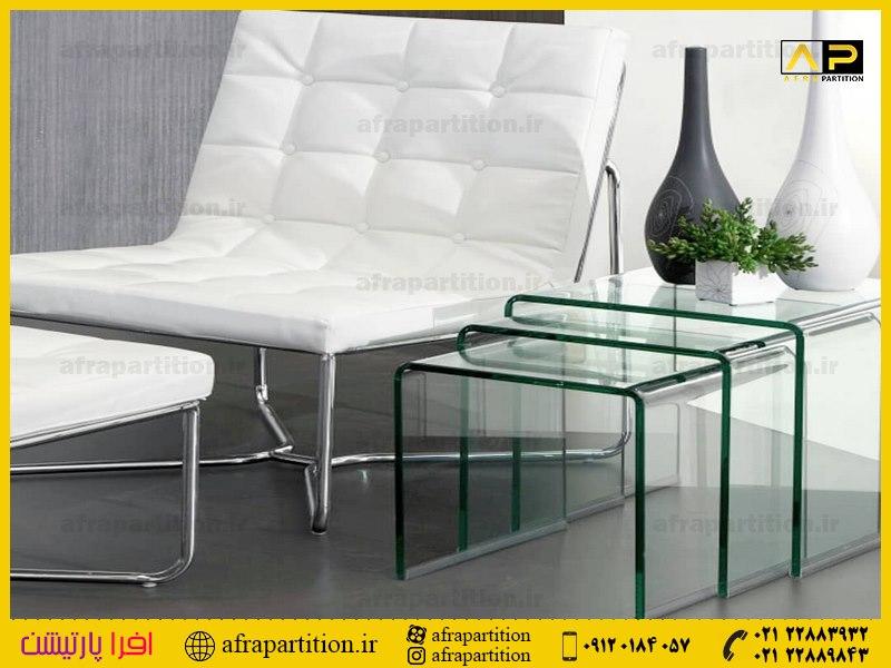 میز عسلی شیشه ای (37)