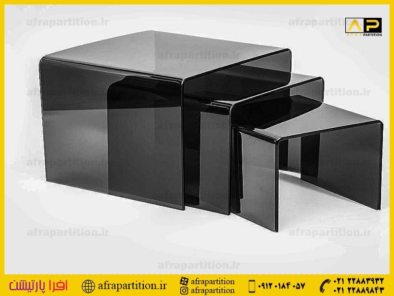 میز عسلی شیشه ای (38)