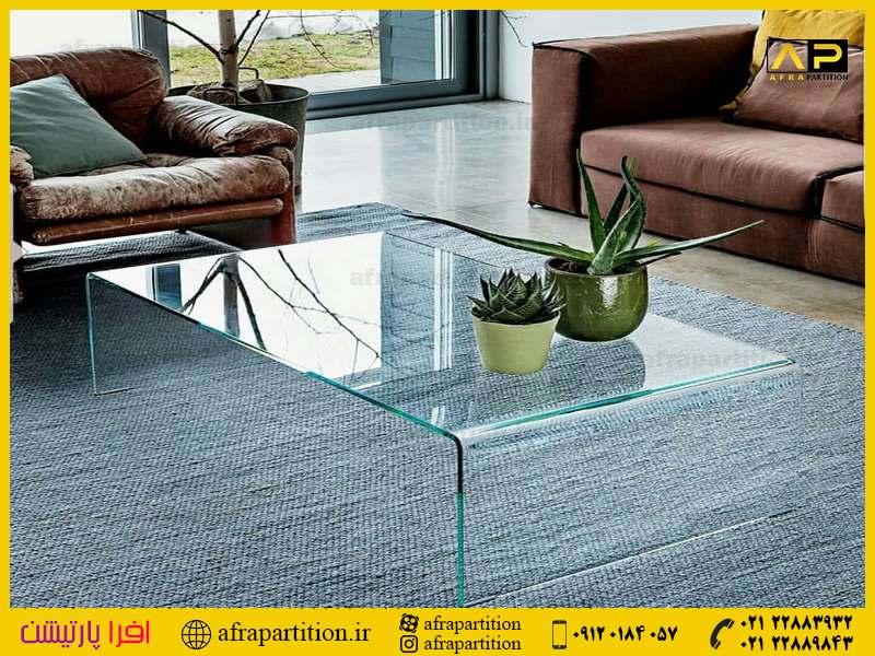 میز عسلی شیشه ای (8)