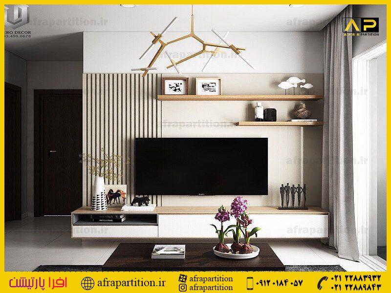 میز و دکور تلویزیون دیواری (1)