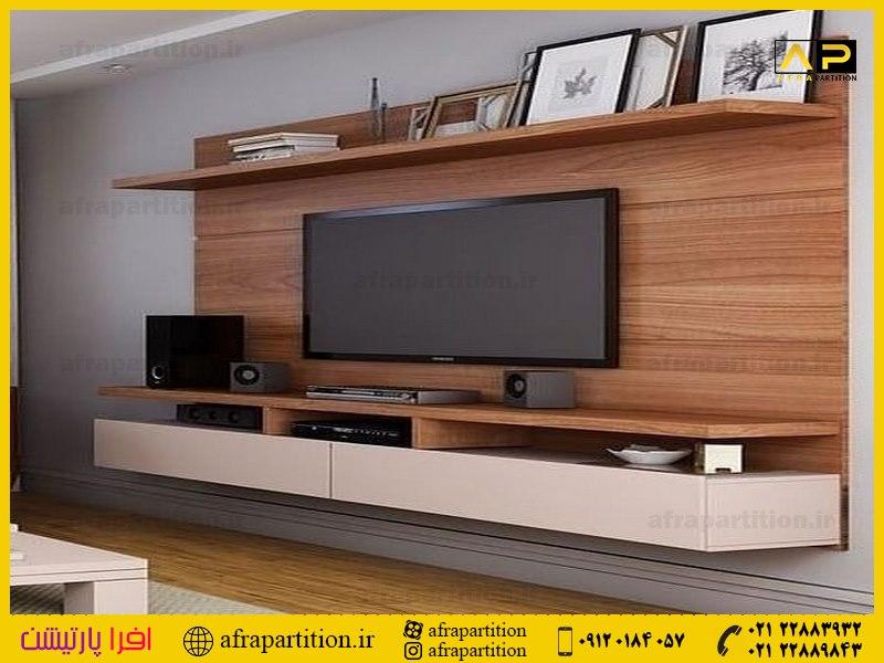 میز و دکور تلویزیون دیواری (22)