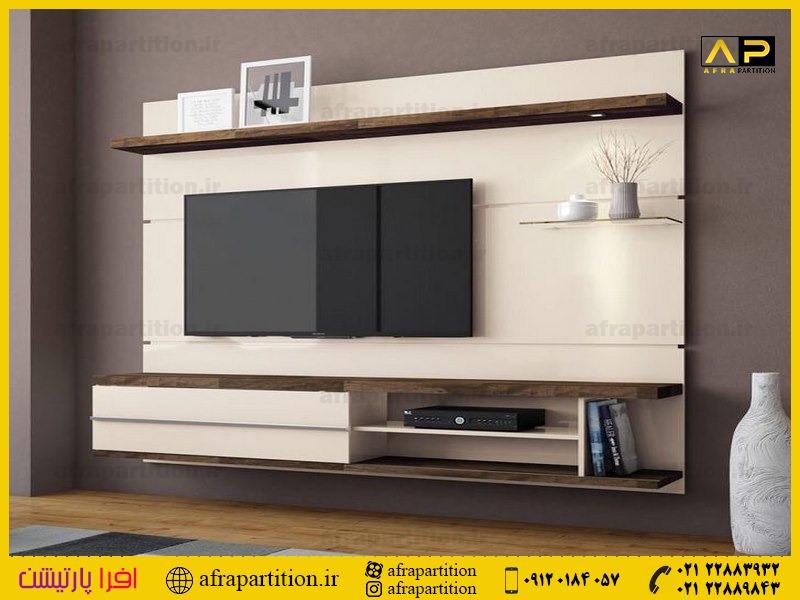 میز و دکور تلویزیون دیواری (35)