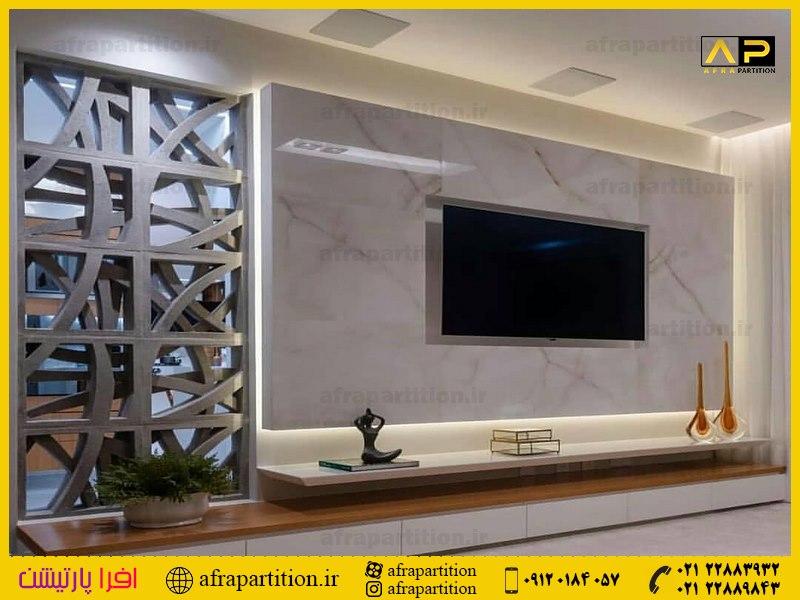 میز و دکور تلویزیون دیواری (9)
