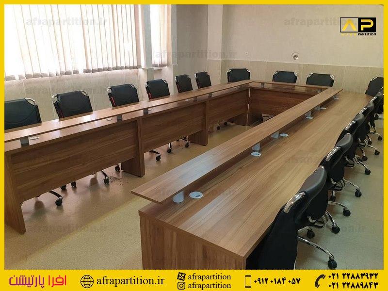 میز کنفرانس با پذیرایی (20)