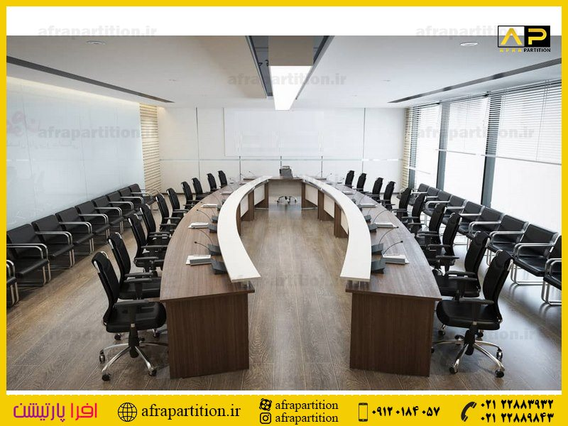 میز کنفرانس با پذیرایی (9)