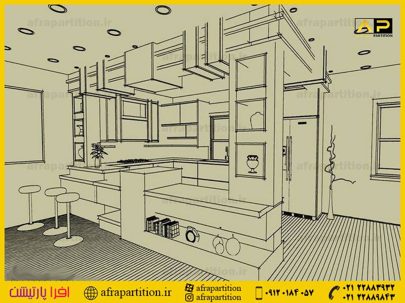 کابینت آشپزخانه -مدرن و جدید (295)