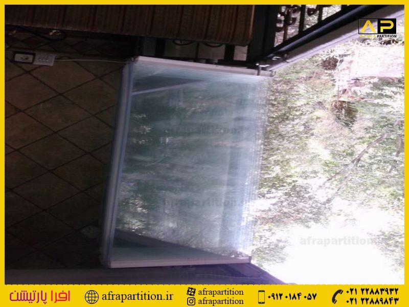 شیشه بالکن ریلی تاشو (100)