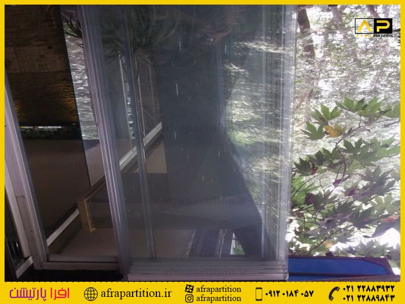 شیشه بالکن ریلی تاشو (123)