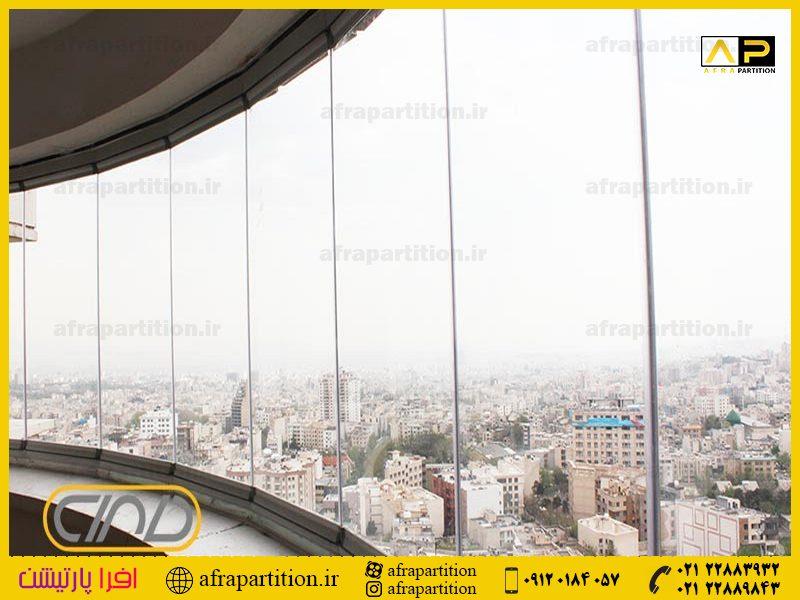شیشه بالکن ریلی تاشو (27)