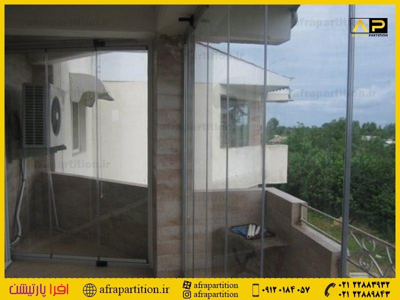 شیشه بالکن ریلی تاشو (43)