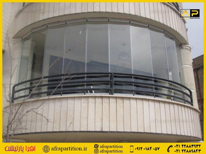 شیشه بالکن ریلی تاشو (45)