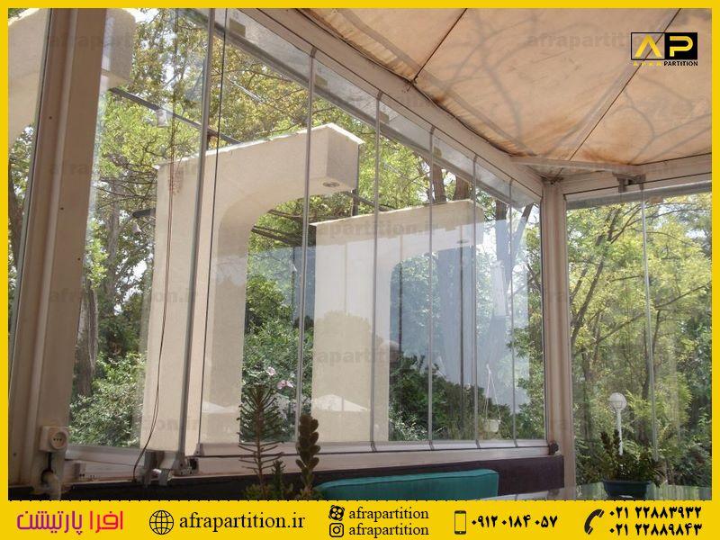 شیشه بالکن ریلی تاشو (83)