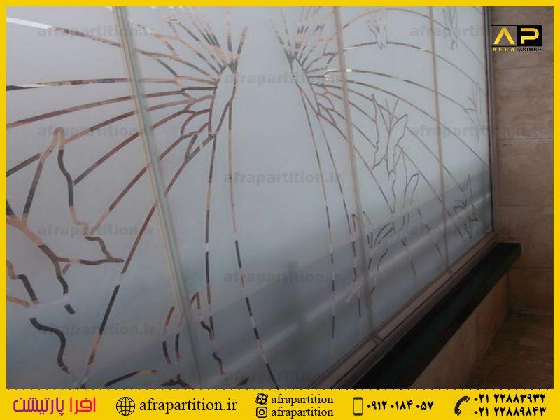 شیشه بالکن ریلی تاشو (95)