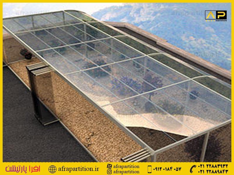 شیشه بالکن ریلی تاشو (131)