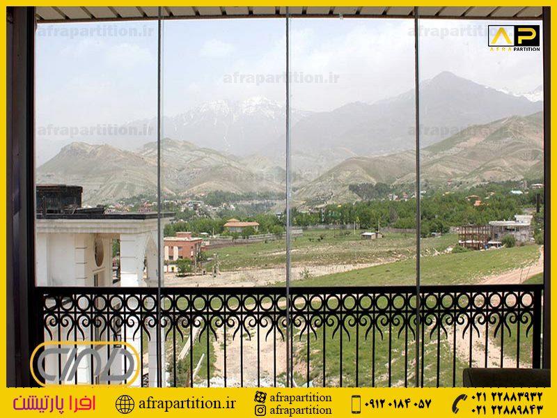 شیشه بالکن ریلی تاشو (15)