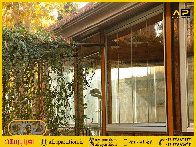 شیشه بالکن ریلی تاشو (3)