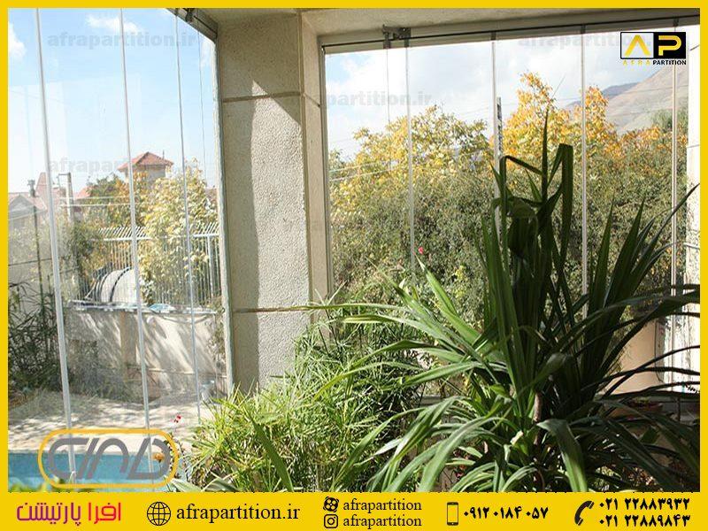 شیشه بالکن ریلی تاشو (32)
