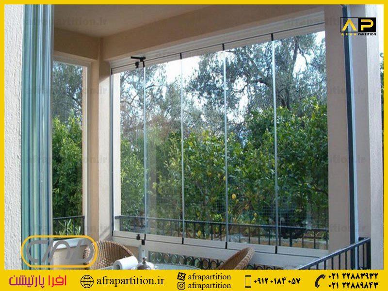 شیشه بالکن ریلی تاشو (36)