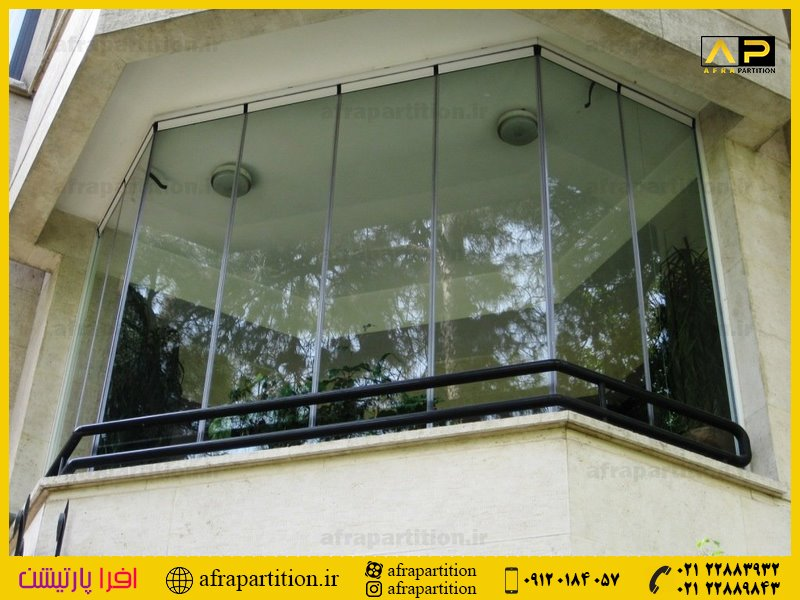 شیشه بالکن ریلی تاشو (40)