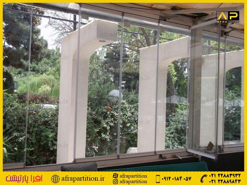 شیشه بالکن ریلی تاشو (70)