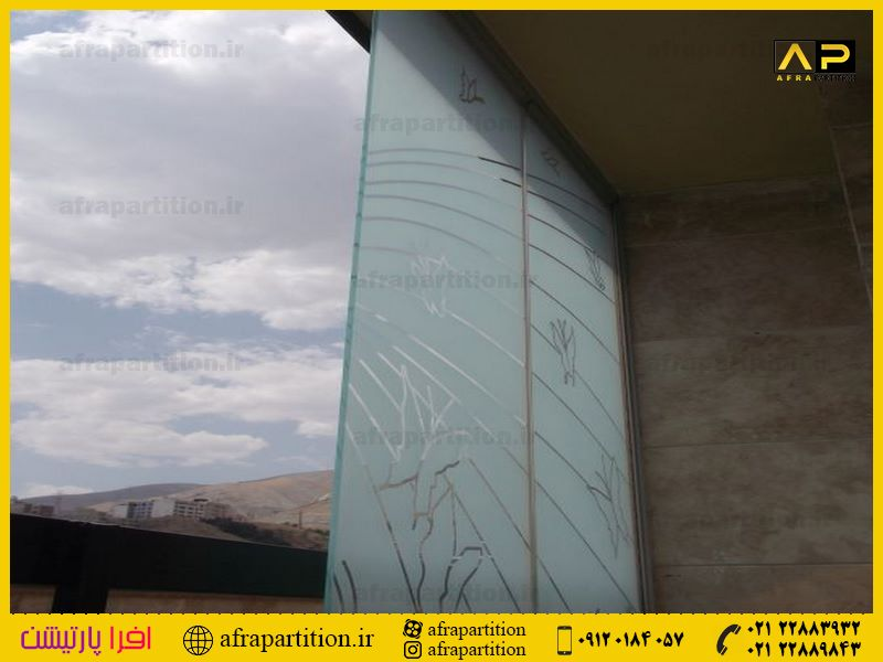 شیشه بالکن ریلی تاشو (94)